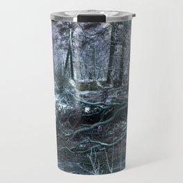Icy Forest Travel Mug