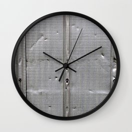Put a Dent in It Wall Clock