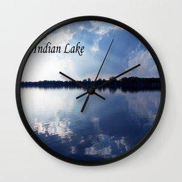 Indian Lake Wall Clock