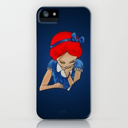 Alice in Readerland iPhone Case