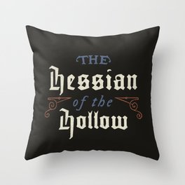 Hessian of the Hollow Throw Pillow