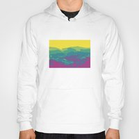 tennessee Hoodies featuring The Mountains of Tennessee by Kristin H. Rommel