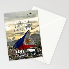 Survive Filipino Stationery Cards