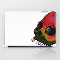 rasta iPad Cases featuring Rasta Skull by Alyssa Barclay