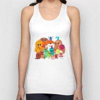 muppet Tank Tops featuring Muppet Doodle Jam! by Orangeblowfish