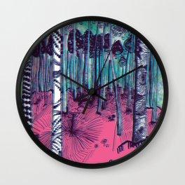 Hunter on Shrooms Wall Clock