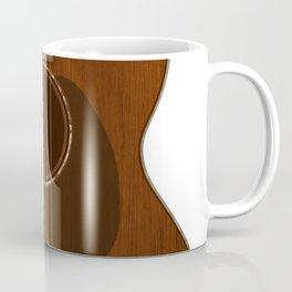 Acoustic Guitar Art Coffee Mug