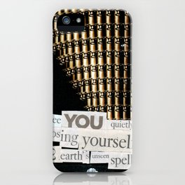 Money for Power Print iPhone Case