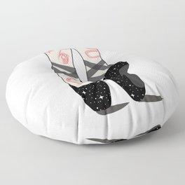 Space Dance Floor Pillow
