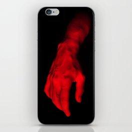 Redhanded iPhone Skin