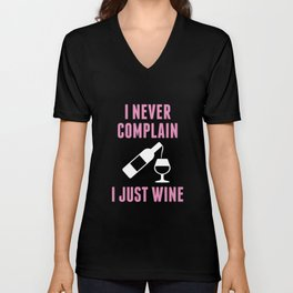 I Just Wine Unisex V-Neck