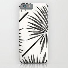 Tropical Fan Palm – Black iPhone 6 Slim Case