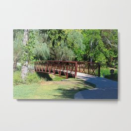 Side Cut Bridge Metal Print