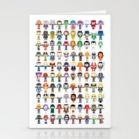 starfox Stationery Cards featuring THE ULTIMATE 'AVENGER'S' ROBOTIC COLLECTION by We Are Robotic