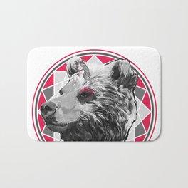 Wild child - Pink Bear Bath Mat