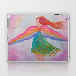 Rainbow Wings Laptop & iPad Skin