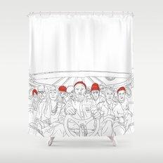 The life aquatic Shower Curtain