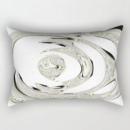 Nothing much Rectangular Pillow