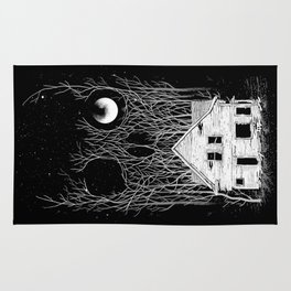 Horror house Rug