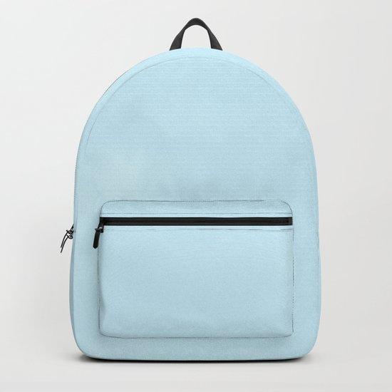 Tropical Waters Blue Watercolor Backpack