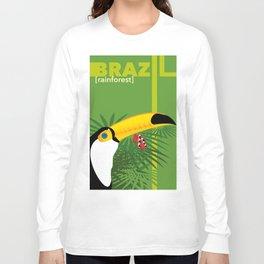 Brazil [rainforest] Long Sleeve T-shirt