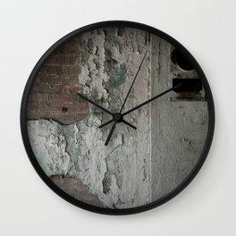 Crumbling Wall Clock