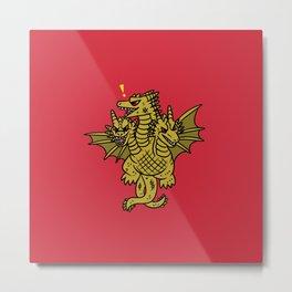 King Ghidorah Metal Print