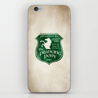 gondor iPhone & iPod Skins featuring The Prancing Pony Sigil by Nxolab