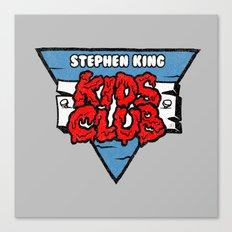 Stephen King Kids Club Canvas Print