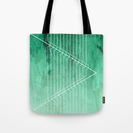 Disrupt - Aquamarine Tote Bag