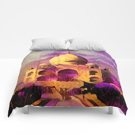 Violet Temple Comforters