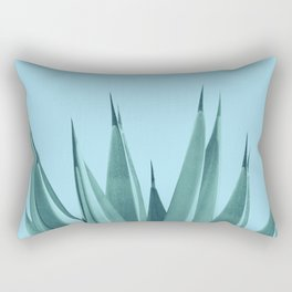 Blue Agave Dream #1 #tropical #decor #art #society6 Rectangular Pillow