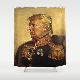 God Emperor Trump Shower Curtain