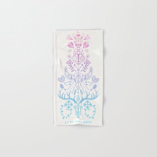 La Vie + La Mort: Rose Quartz & Serenity Ombré Hand & Bath Towel