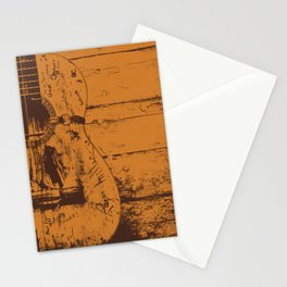 Trigger - Acoustic Guitar - Willie Nelson Stationery Cards