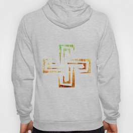 Golden Tide Mosaic Hoody