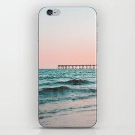 Beach Pier Sunrise iPhone Skin