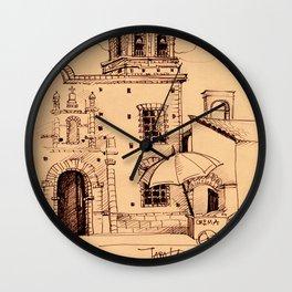 Hidden Mexico 1 Wall Clock