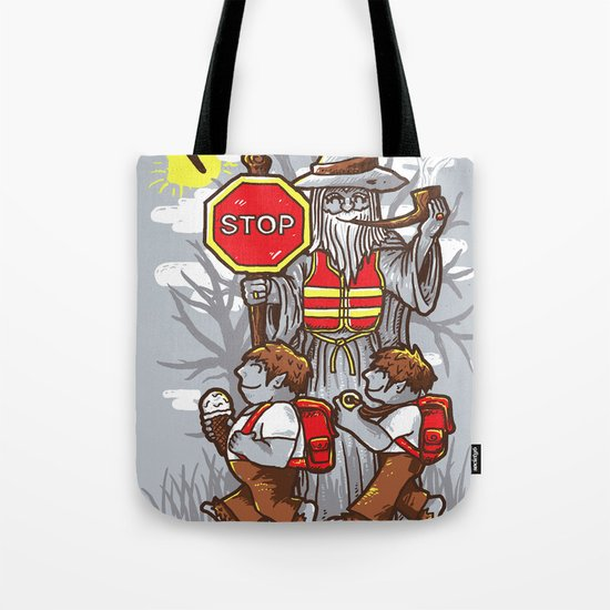 Crossing Tote Bag