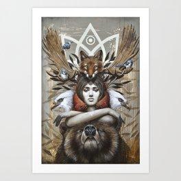 Kwanita Art Print