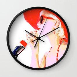 it-girl Wall Clock