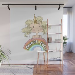 Unicorn Vibes Wall Mural