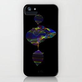 Fabric of Light IV iPhone Case