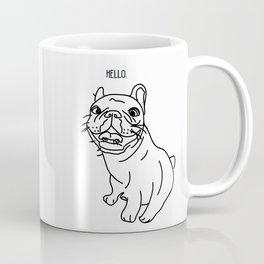 Hello Frenchie Coffee Mug