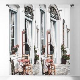 Amorgos Greece Blackout Curtain