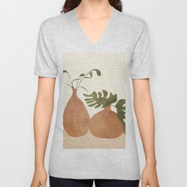 Two Living Vases Unisex V-Neck