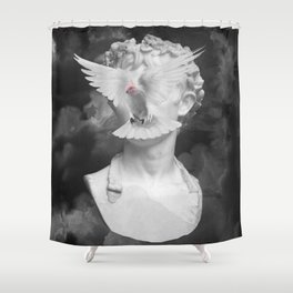 Esprit libre Shower Curtain