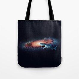 Space Shark Tote Bag