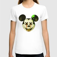 mickey T-shirts featuring Mickey by wrong planet