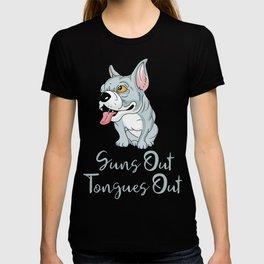 Pitbull Edition SunsOutTonguesOut T-shirt
